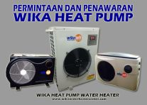 ARTICLE PERMINTAAN DAN PENAWARAN WIKA HEAT PUMP SWIMMING POOL KOLAM RENANG  JACUZZI  SPA